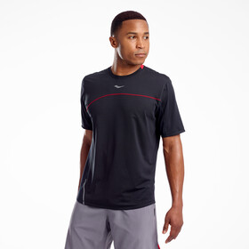 saucony Drafty T-shirt Heren, black